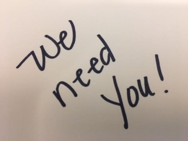 Click here to volunteer! -