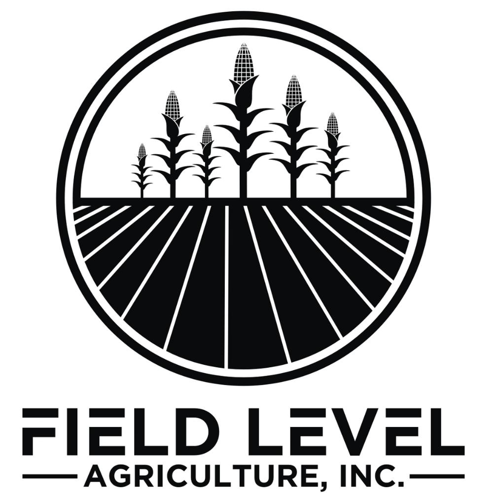 Field Level Ag - black on white
