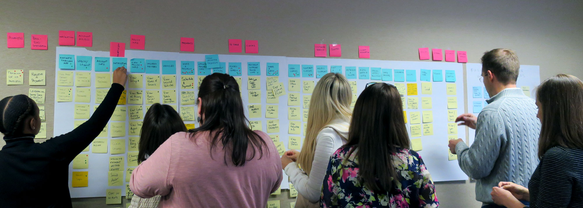 Story Mapping Workshop facilitated by Alex Schmidt, UX Strategist & Product Owner, Tigerspike
