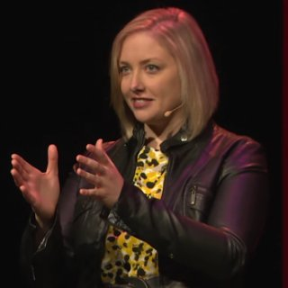 Speaking at TEDx (or holding an invisible sandwich.)