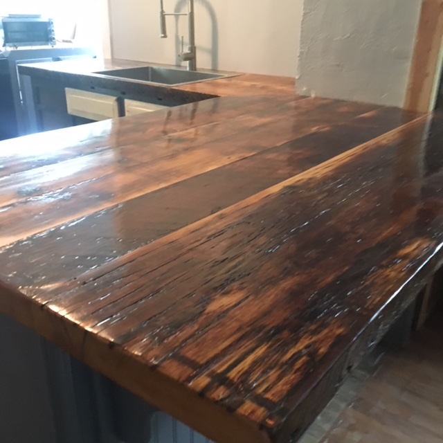 Barn & Salvage Wood Counter Tops