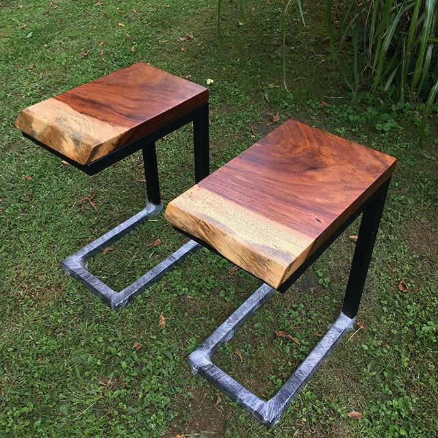 Sweet pair of end tables being shipped to Washington DC.
