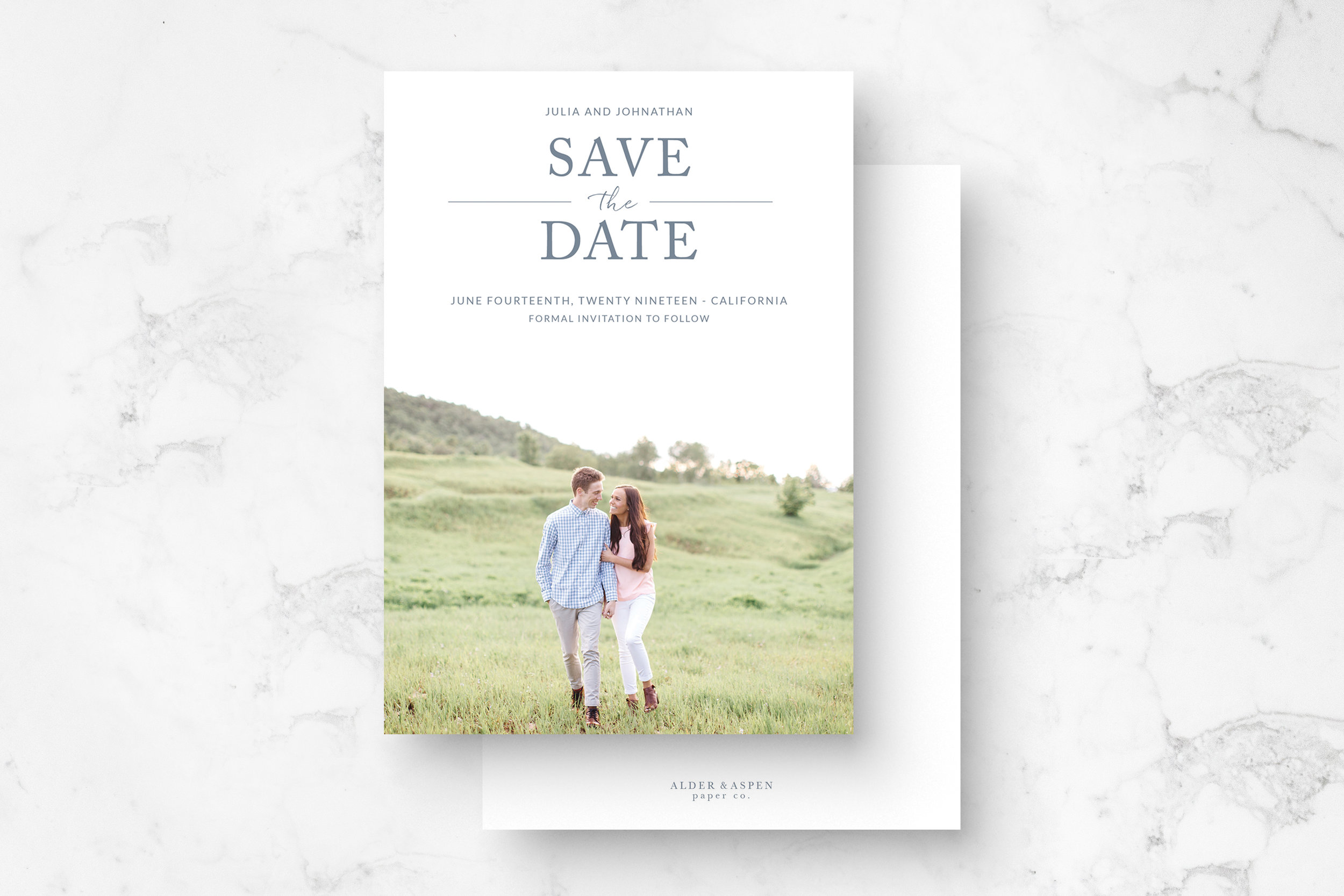 """""""Darling"""" Save The Date"""