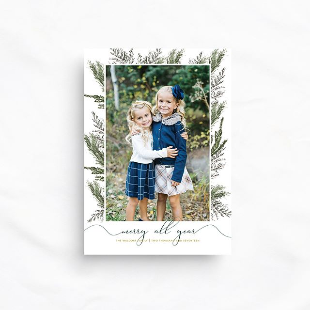 Find your perfect holiday card this season🎄 Unique designs from classic to modern!