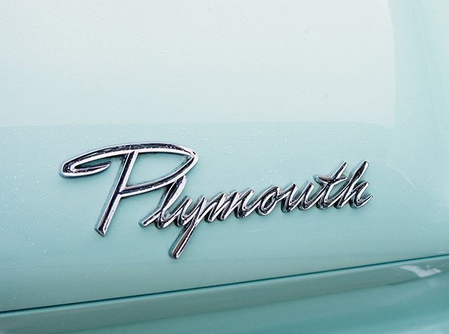 Classic automotive typography can't be beaten.          #Plymouth #ClassicCars #Typography  #vintagecar #carsofinstagram #instacar #car #cars #vintage #carporn #classic #drivetastefully #cargram #automotive #auto #retro #petrolicious # #design #lettering #type #goodtype #thedailytype #typespire #PassionDrivenDesign #AmicoAgency
