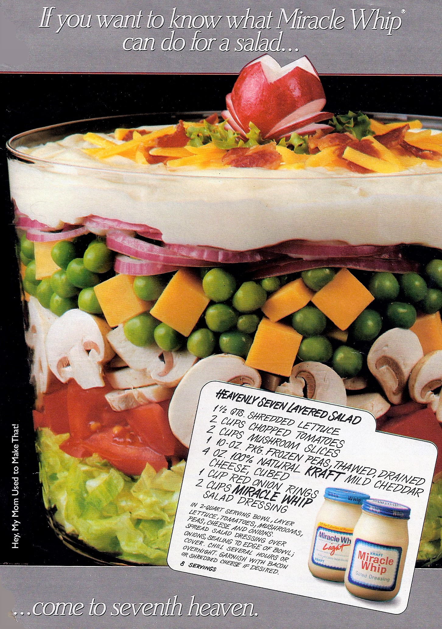 Peggy's Seven Layer Salad