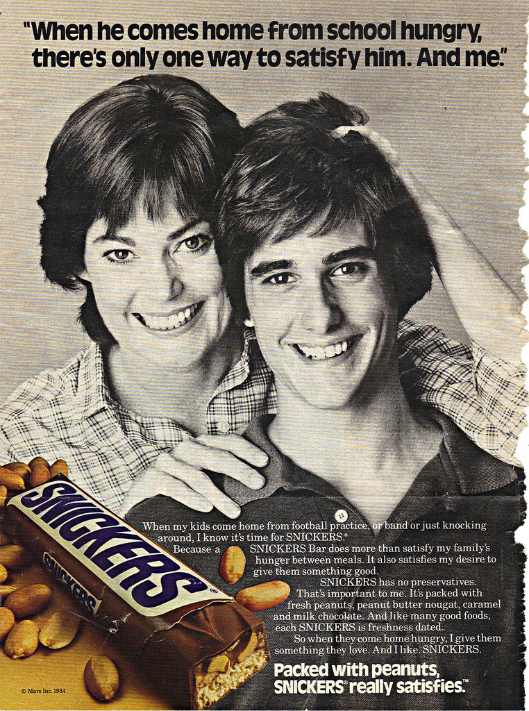 Remember when a Snickers bar was considered a 'healthy' snack?