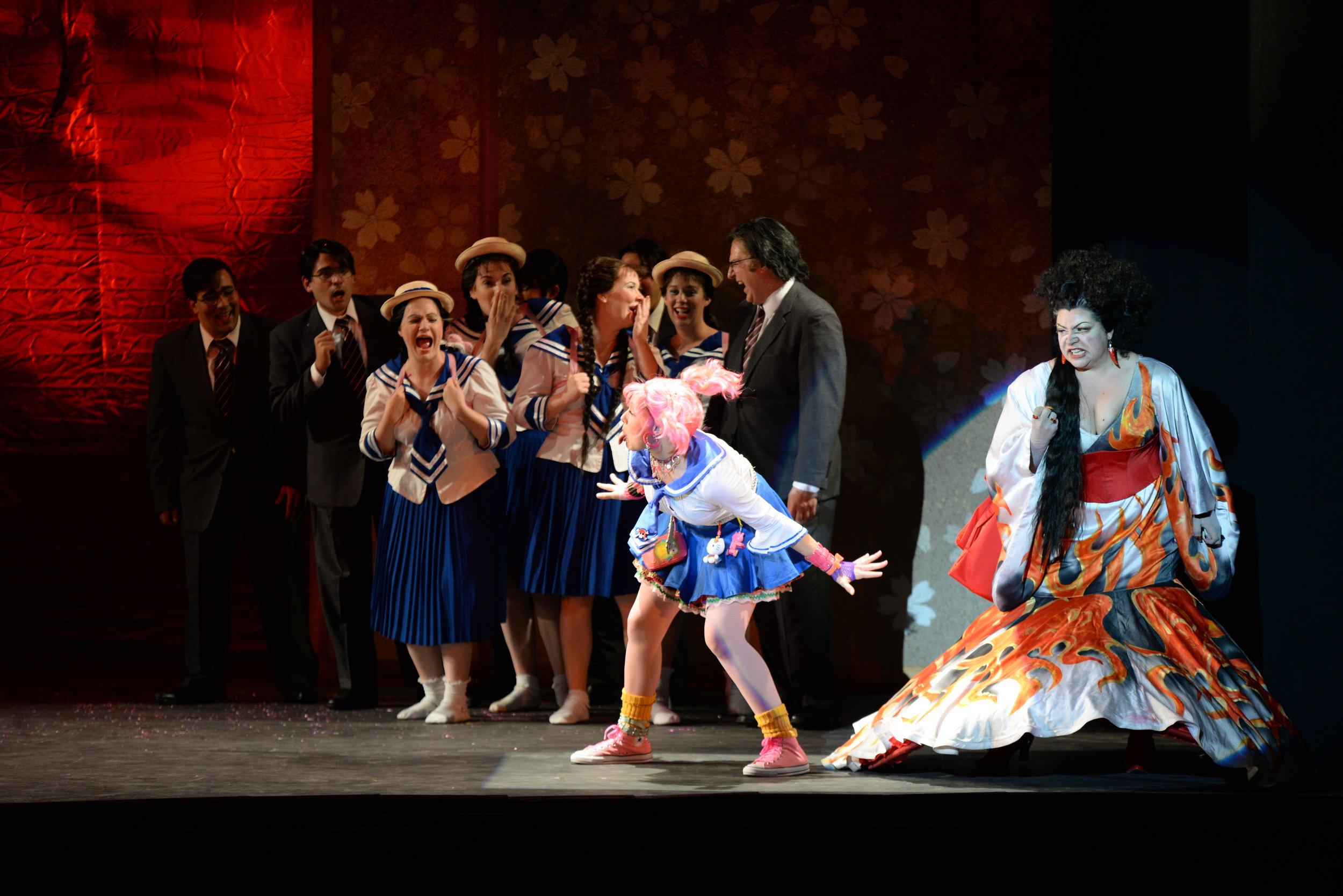 Photo Credit: Greg Funka for Chautauqua Opera -The Mikado