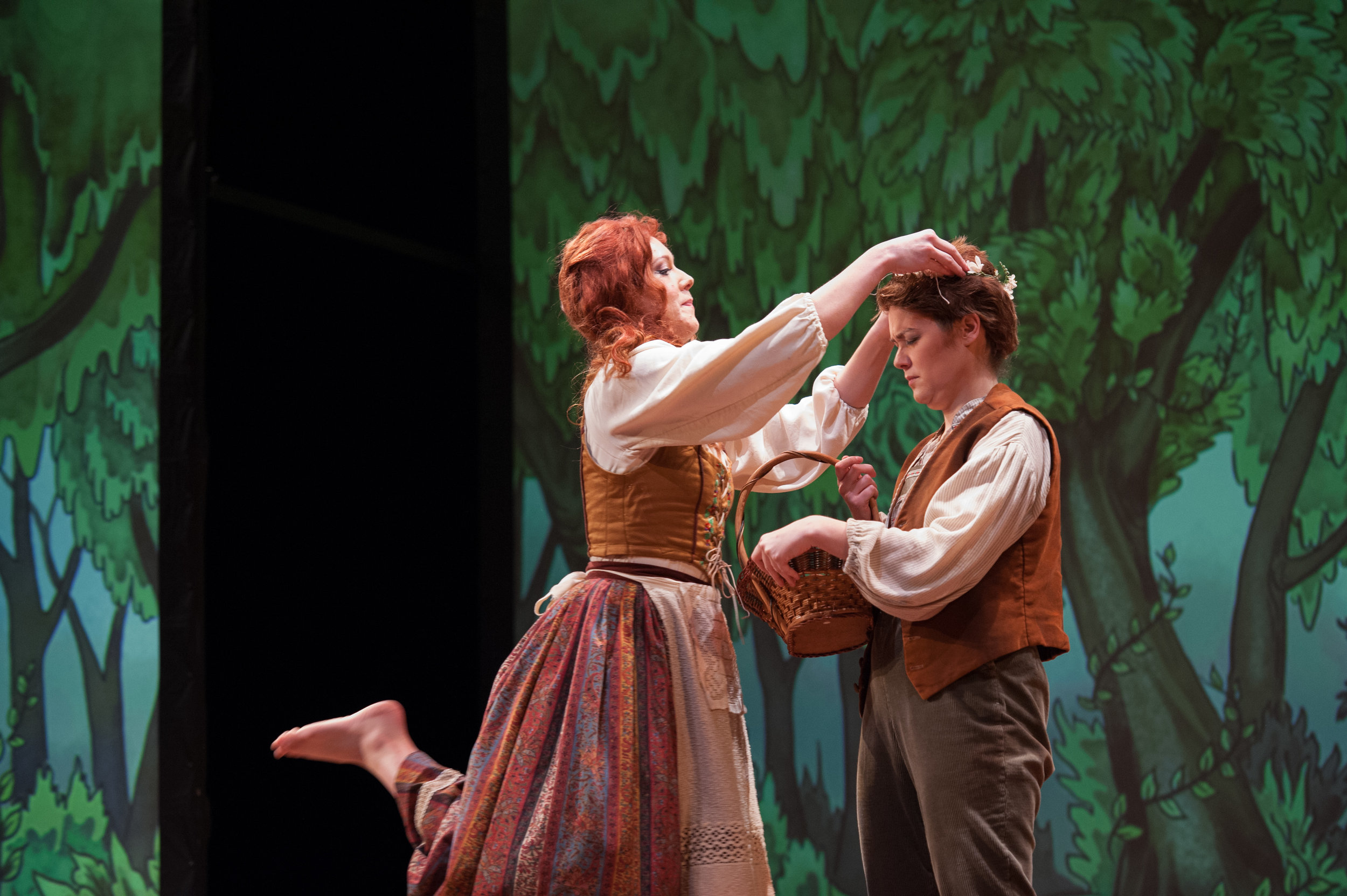 Photo Credit: Melissa Sweazy for Opera Memphis -  Hansel and Gretel