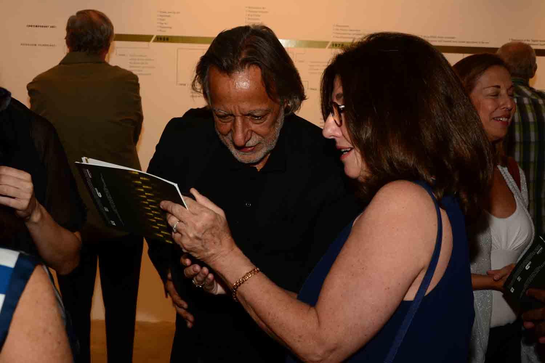 Rolando Peña and Alejandra Von Hartz