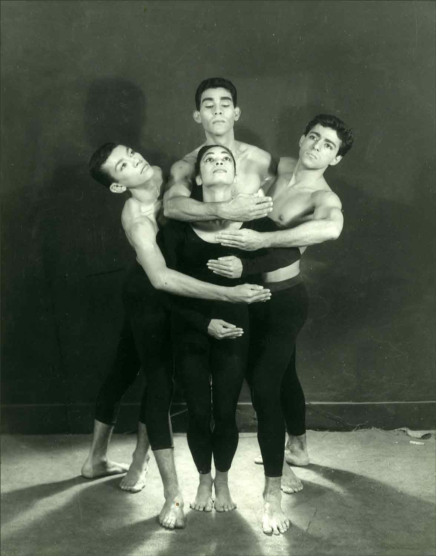 From left to right:  Rodolfo Varela, Sonia Sanoja, El Negro Ledezma and Rolando Peña
