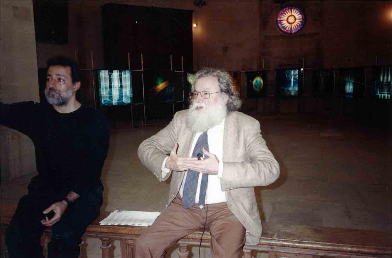 Rolando Peña and Pierre Restany, Chapelle de St. Louis de la Salpêtrière