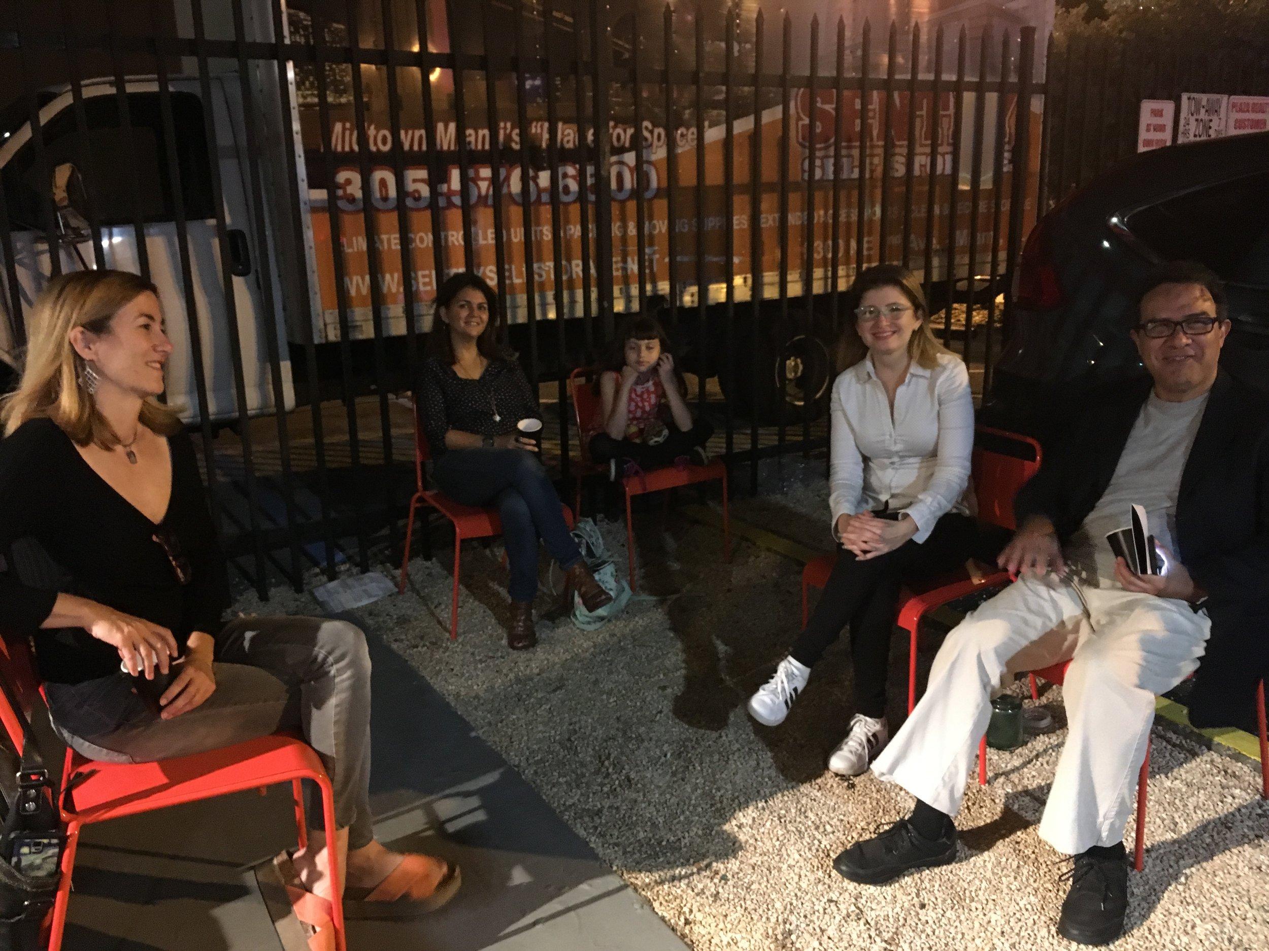 Milagros Gonzalez, Fernando Nuñez-Noda, Vicelyz Fadul, Veronica Daprano