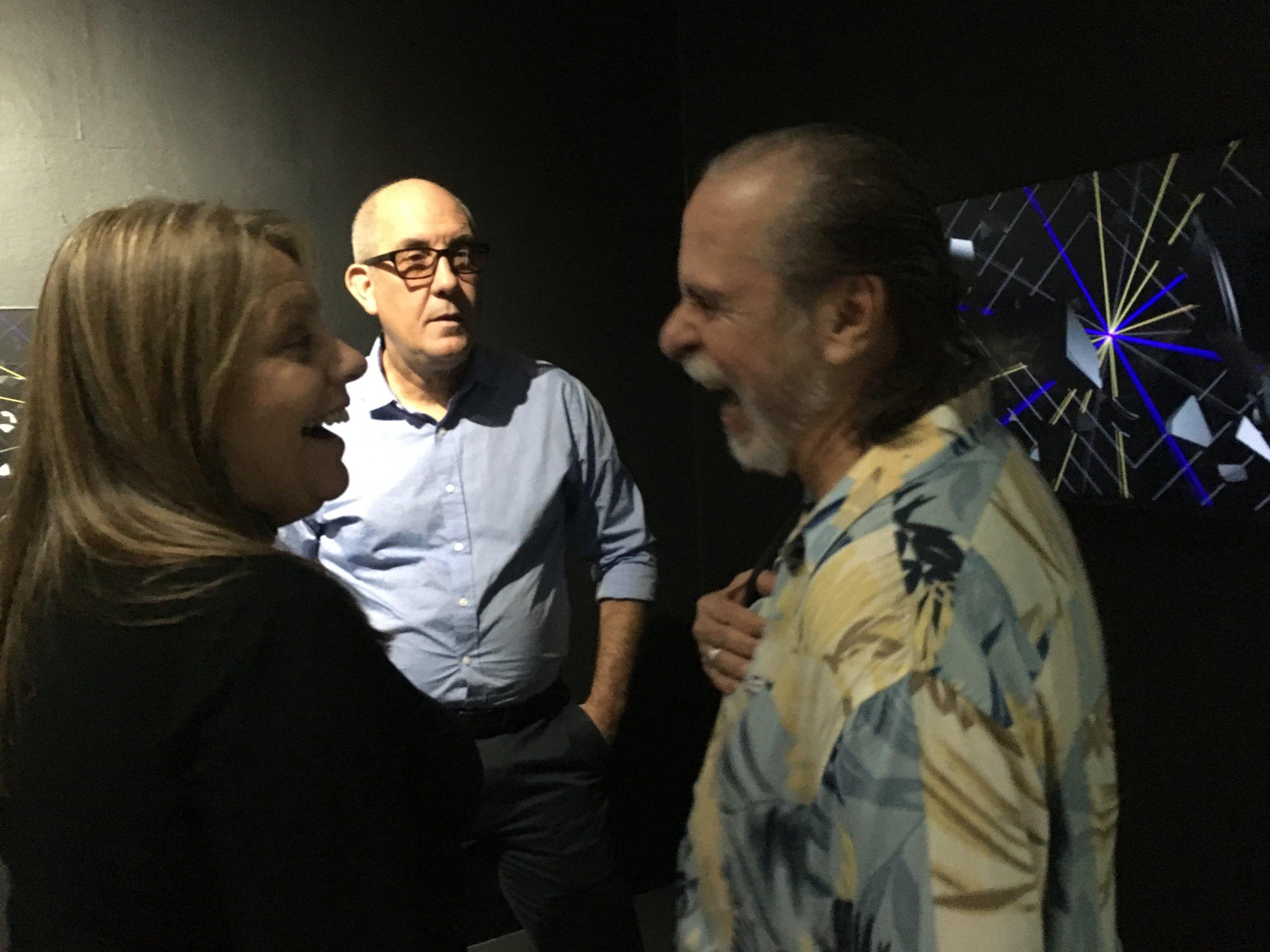 Gabriela Vanzetti, Victor Rodriguez, Julio Neri