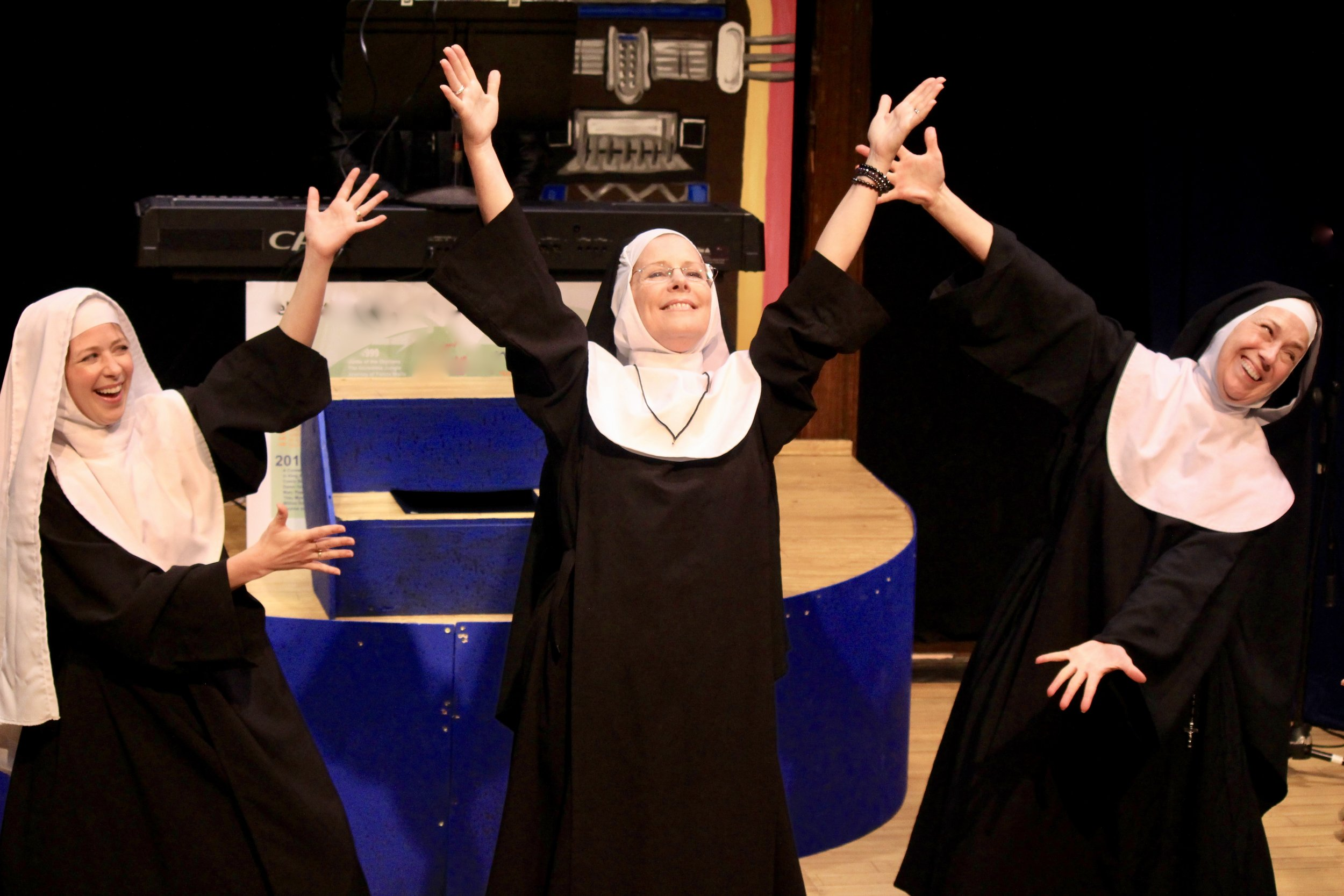Click for tickets to Nunsense