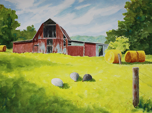 SOLD Thompson's Barn