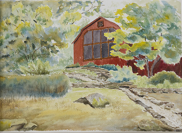 T C Steele Studio - Plein Air