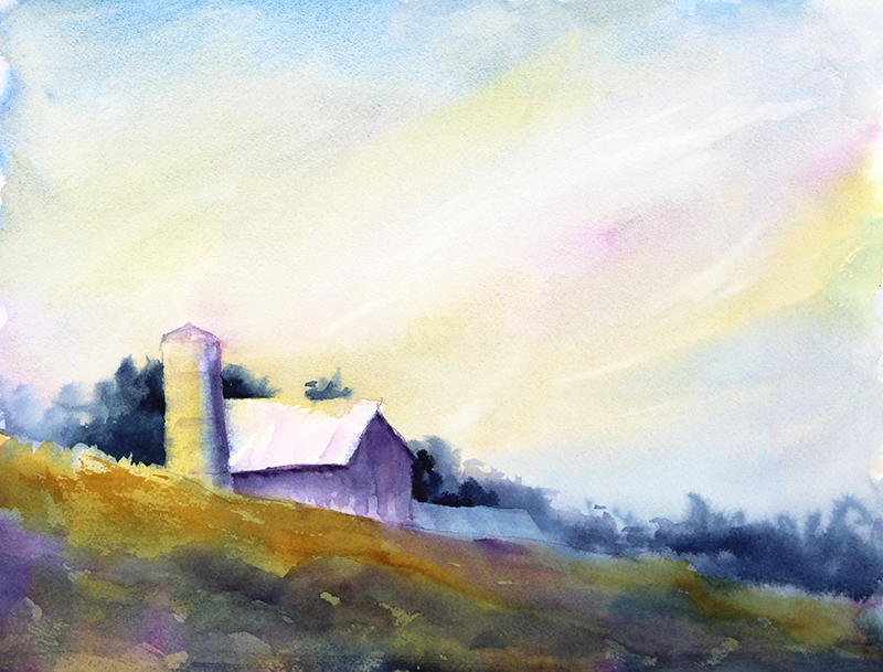 Purple Barn, Twilight