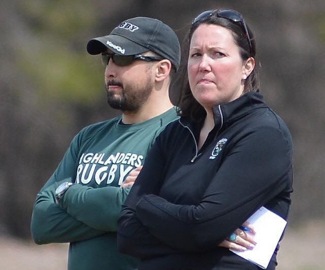 "Rugby Coach mode. I am ""slightly"" competitive ... but don't worry, I won't make this face at you."