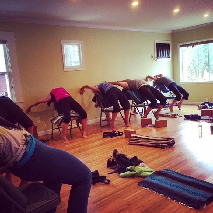 yoga class trails within graegle