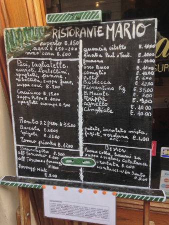 Affordable and excellent handmade food in Tuscany
