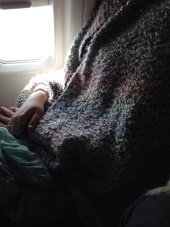 A snuggly blanket is versatile. And snuggly.