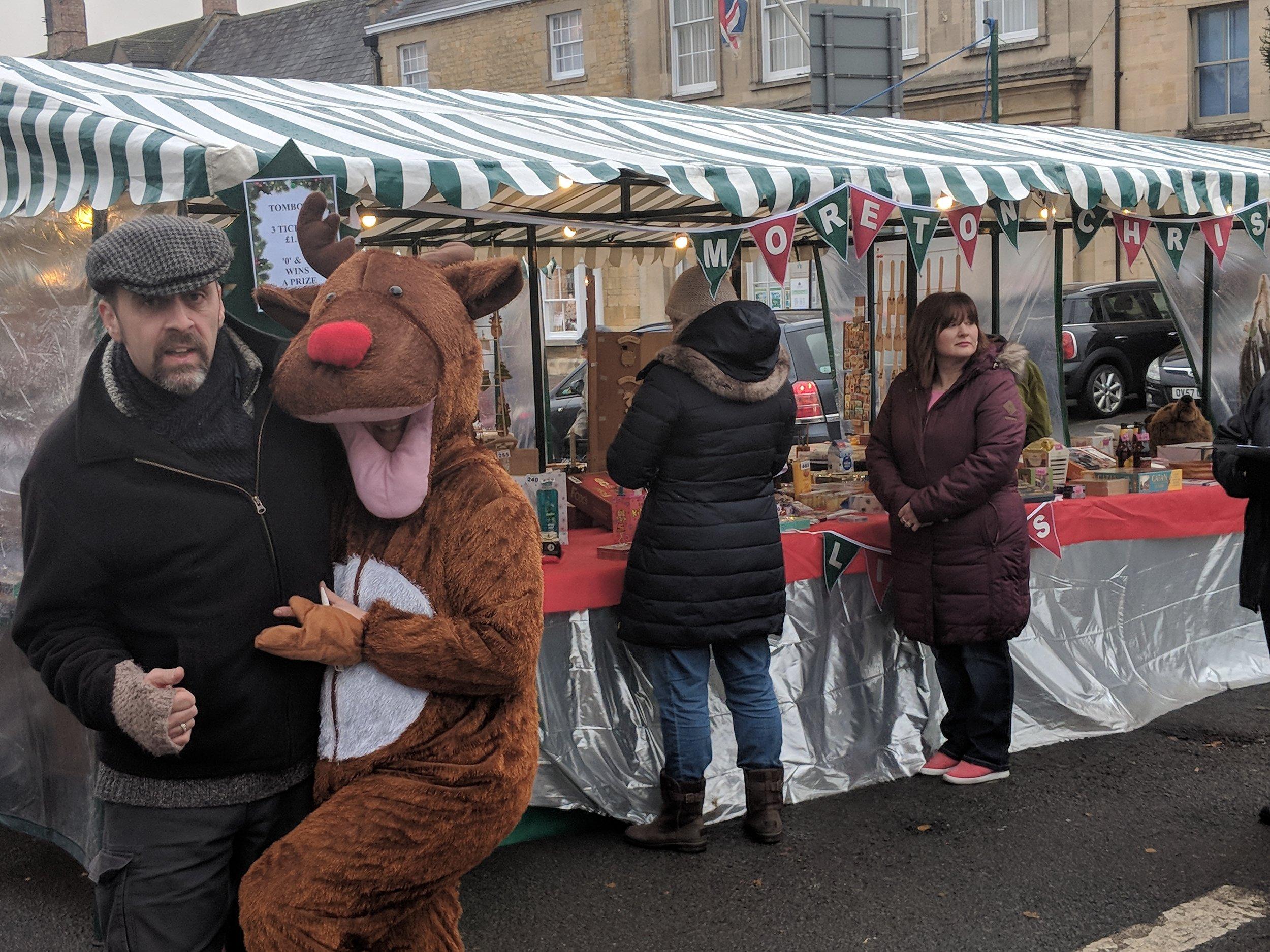 Christmas Market antics