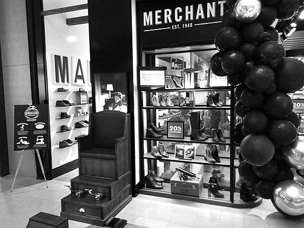 MERCHANT 1948 SHOE STORE LAUNCH - CHADSTONE VIC 2018