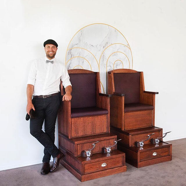 Include our luxury shoeshine activation as part of your next Melbourne event.  #melbourneevents #eventsmelbourne #shoeshine #shoeshinechair #melbournemarketing #corporateevents #corporateeventsmelbourne #melbourneeventhire