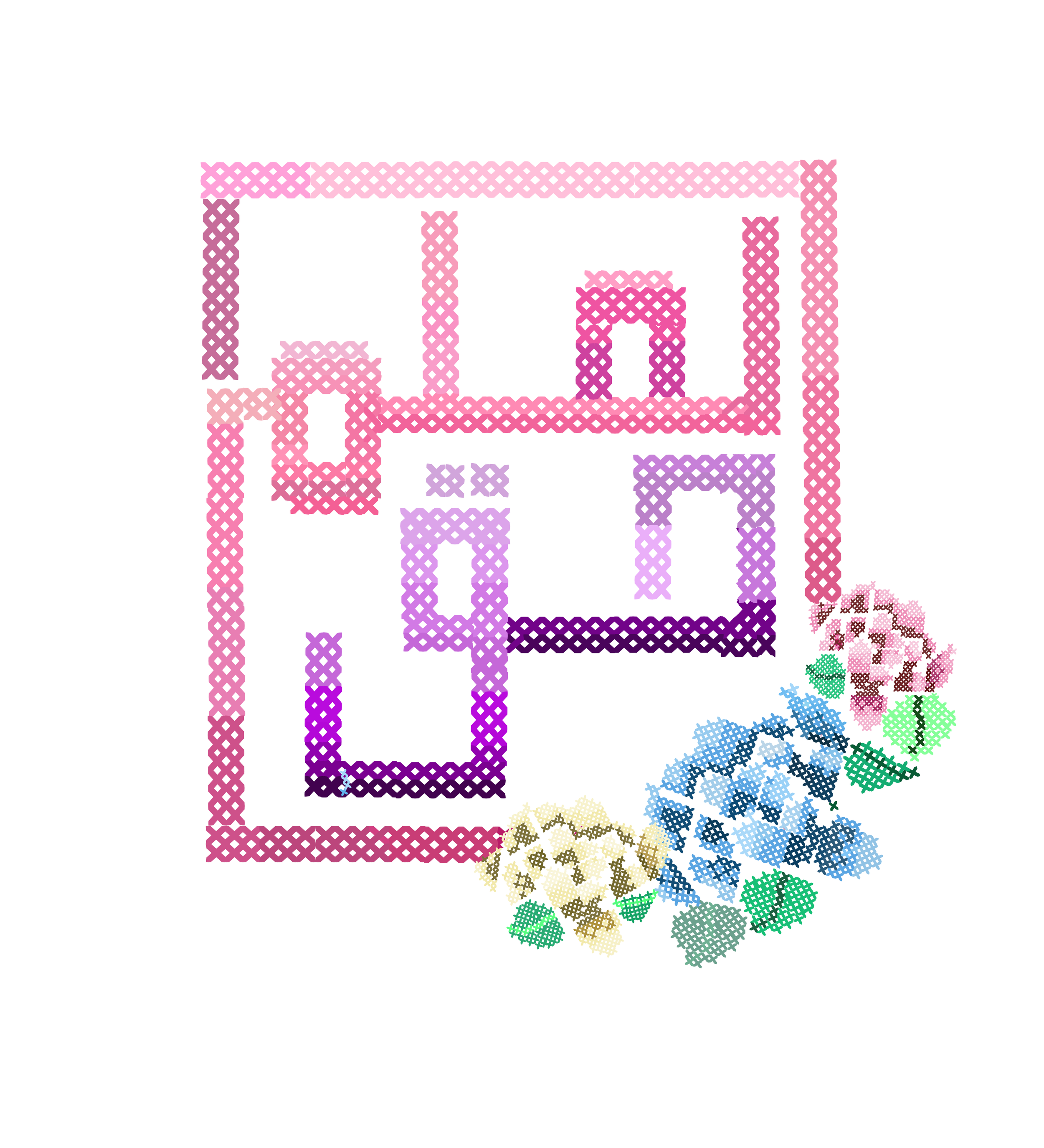Our beautiful Tatreez inspired design