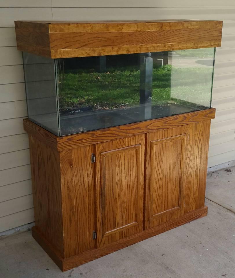 Custom Aquarium Cabinetry Is How It All Began For Sugartree Woodwerks Sugartree Woodwerks