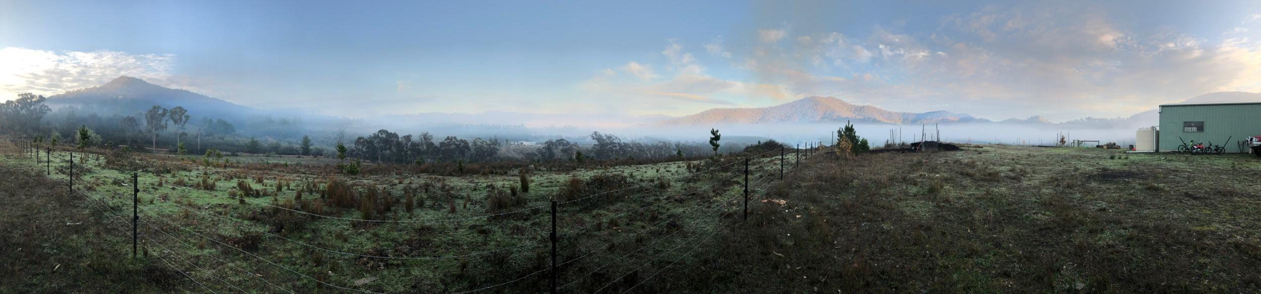 A wintery morning - Macs Cove - Victoria