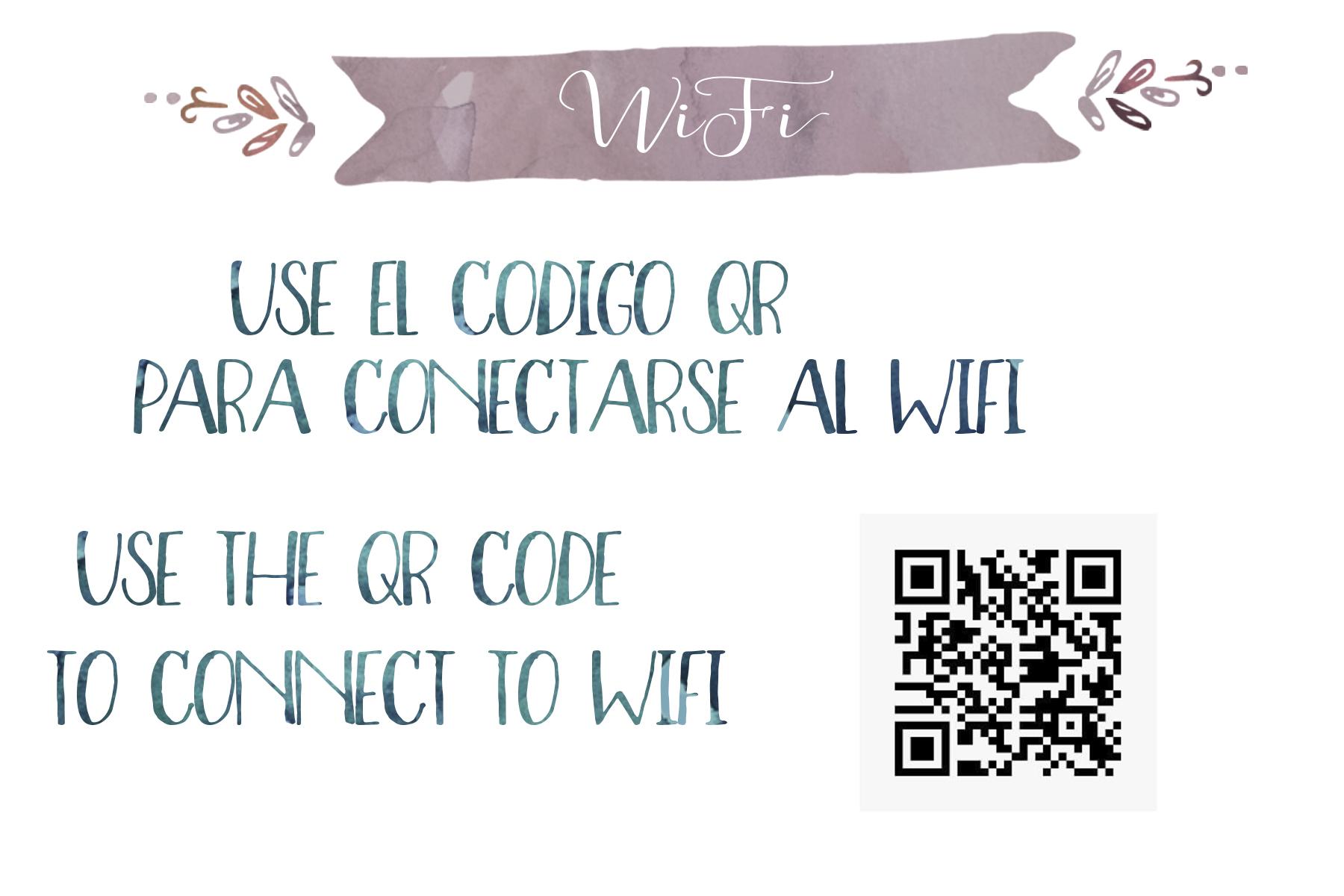 WiFi QR Code