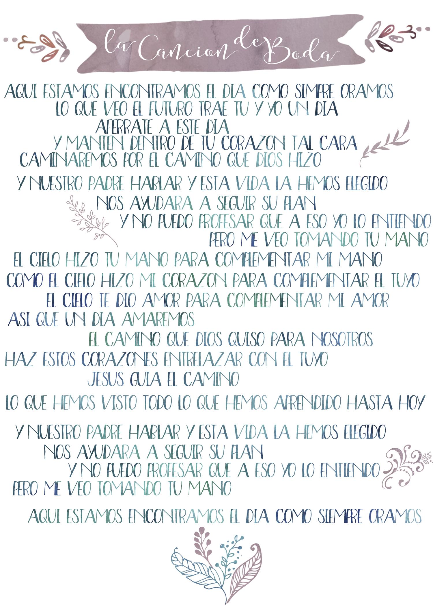Lyrics // Letras