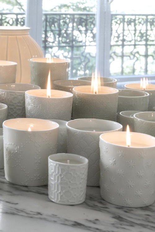 SCENTED CANDLES -