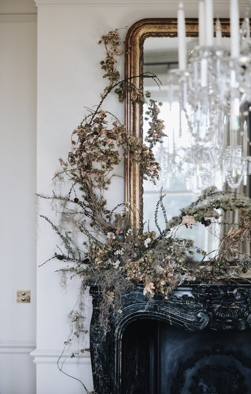 Décor | Holiday Decorating Trend: Sculptural Garlands
