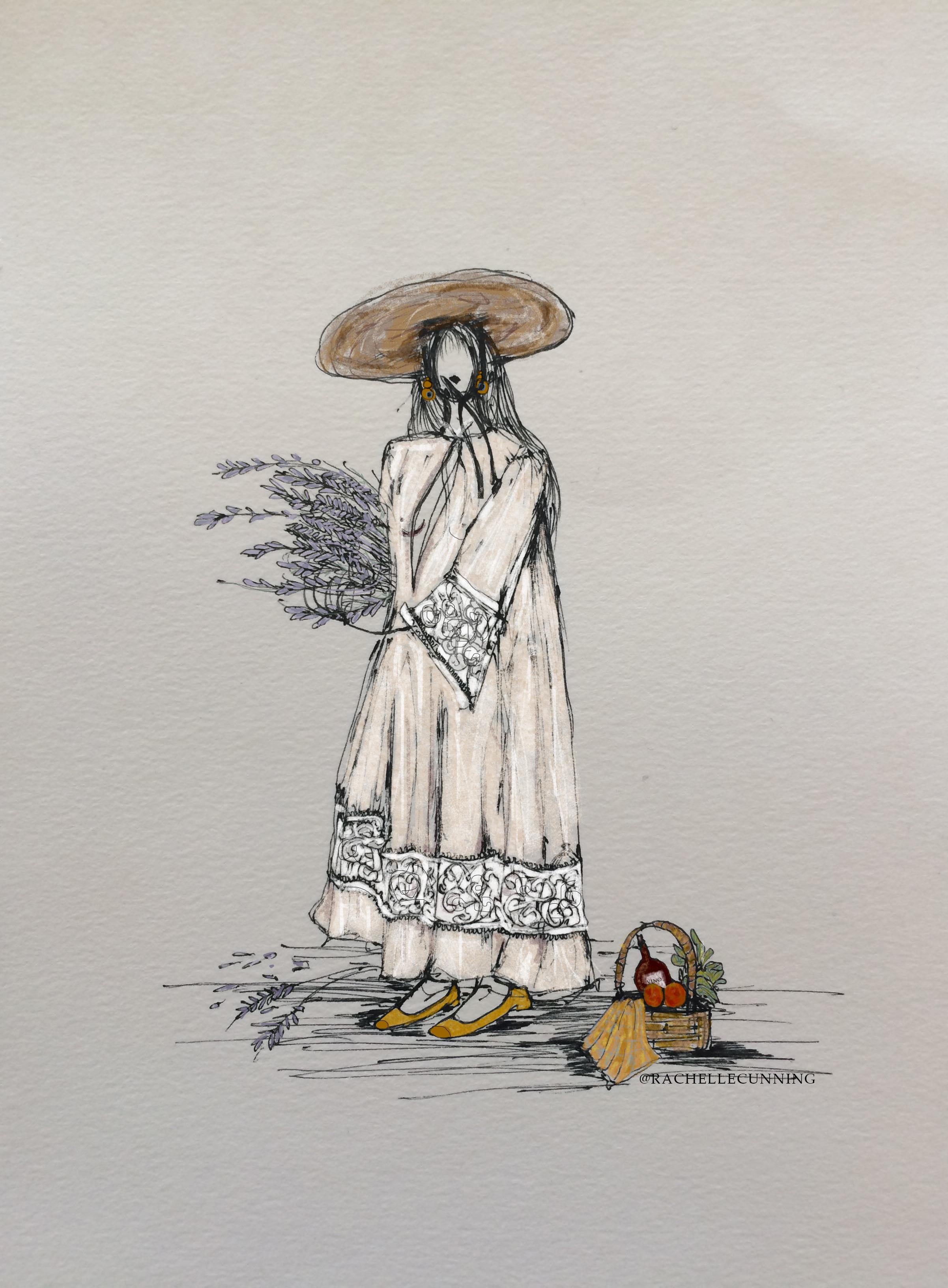 Lavande. Jacquemus. March '18. Paris. FR.   (print available)