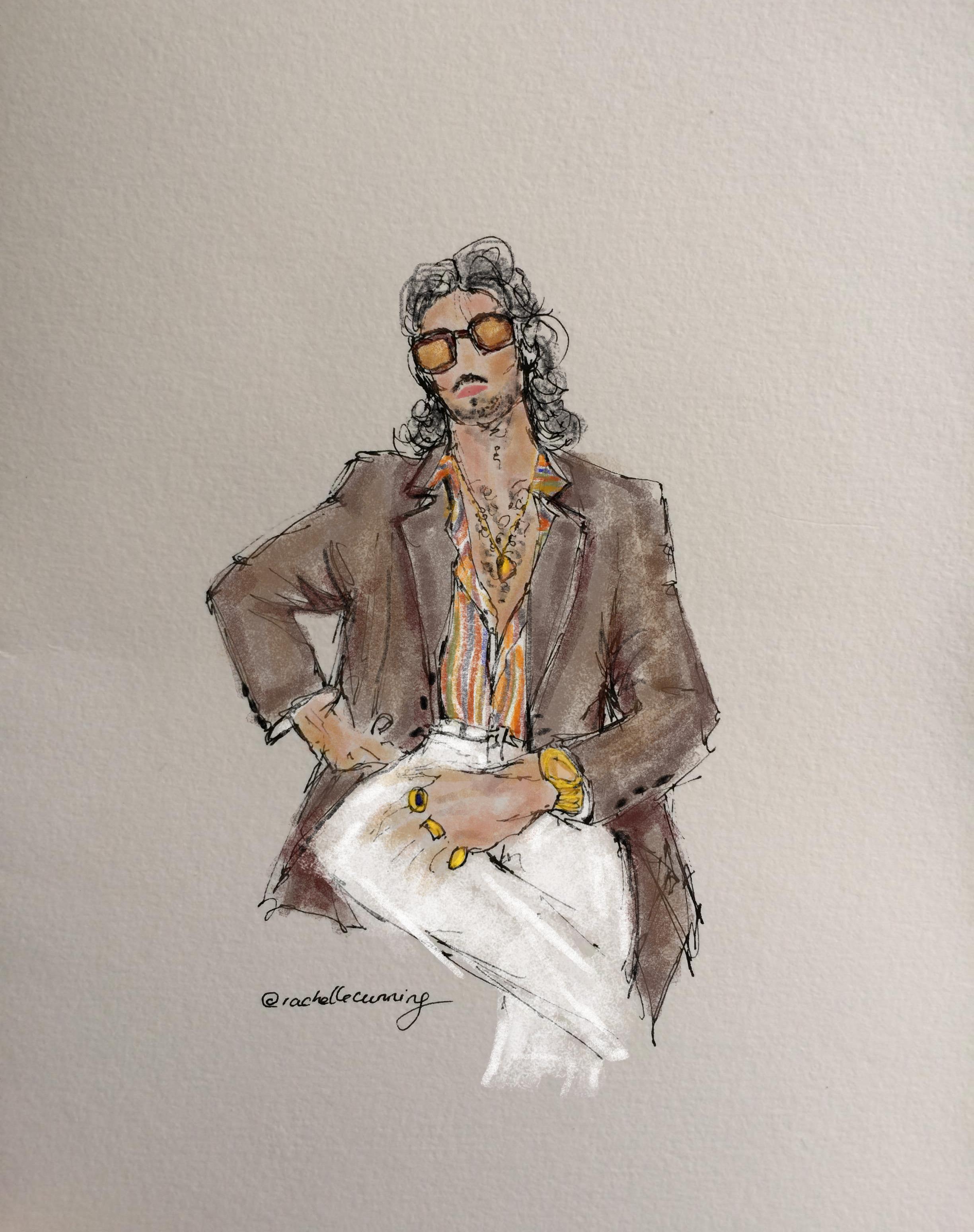 El Blasco. Portrait. August '18. Paris. FR. (print available)