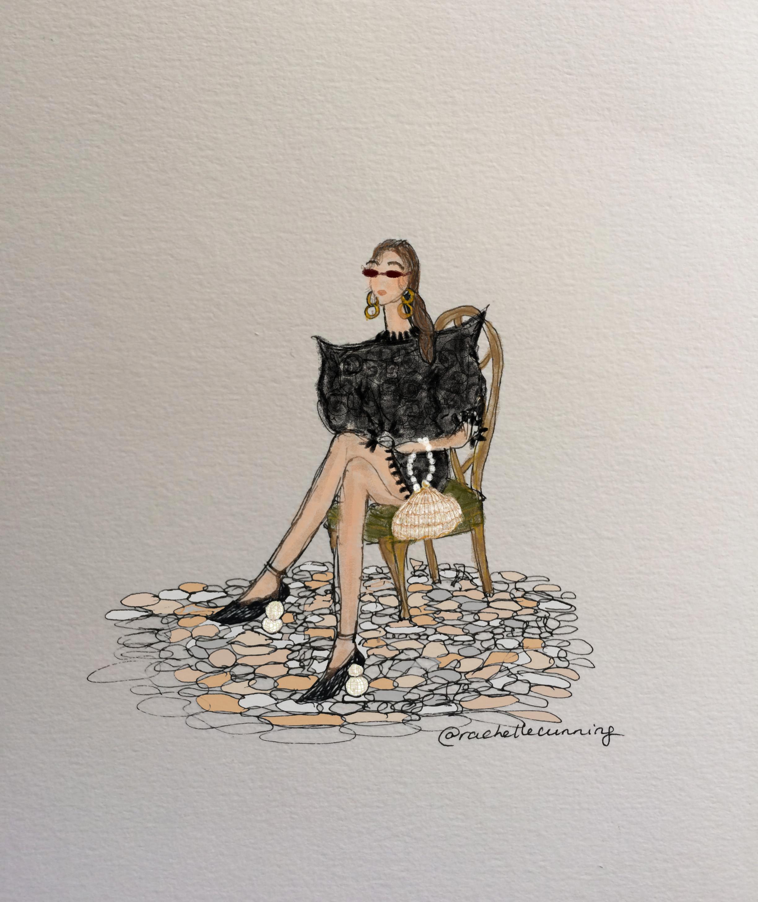 """""""The Velvet Chair"""". September '18. Paris. FR  (print available)"""