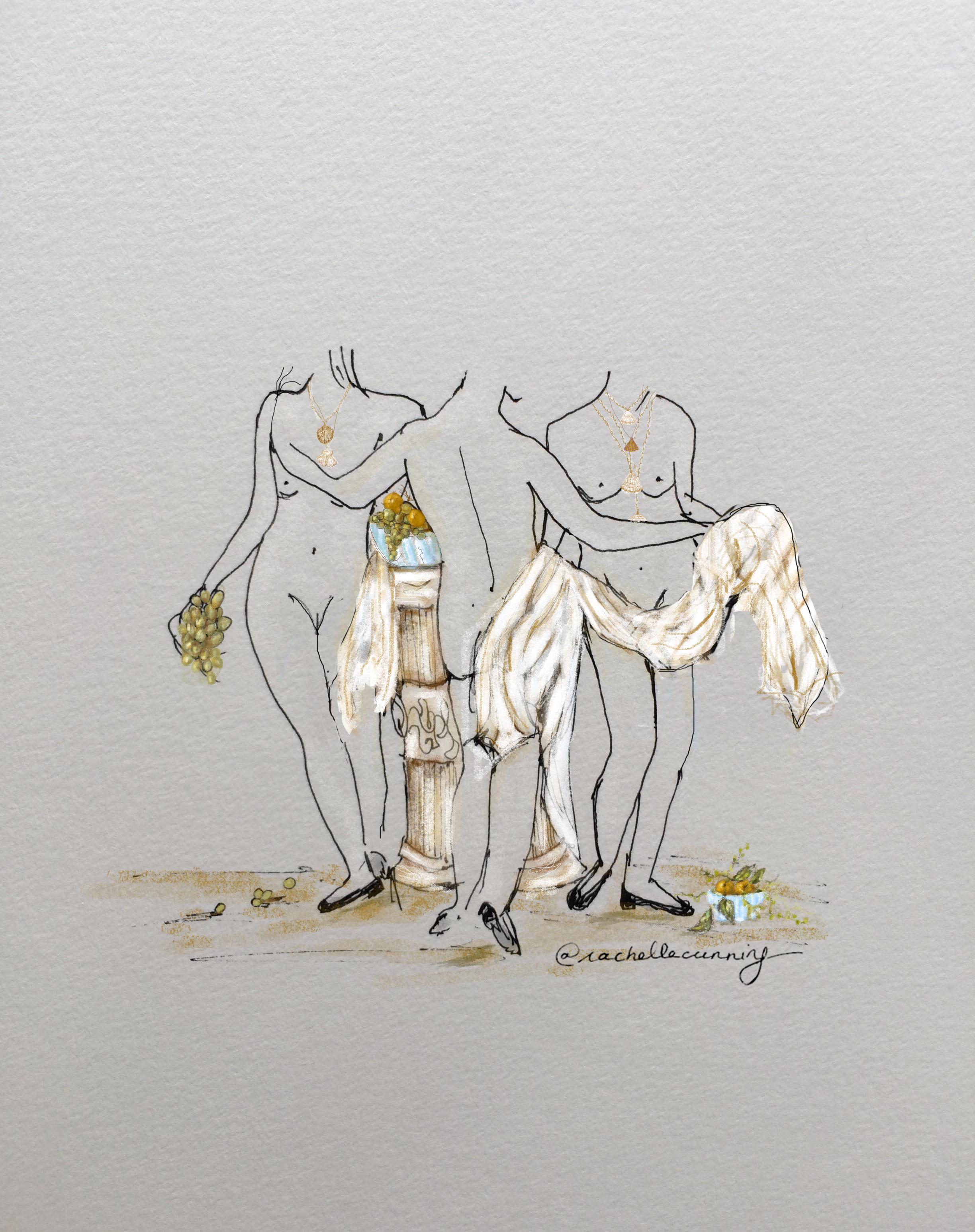 """""""Les trois femmes"""". Octobre '18. Paris. FR  (print available)"""