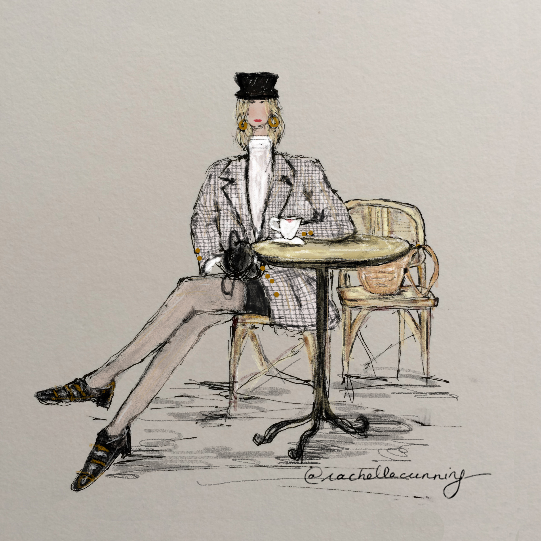 """Work  for Gavroche Vintage. """"Vintage Blazer"""". November'18. Paris, FR."""