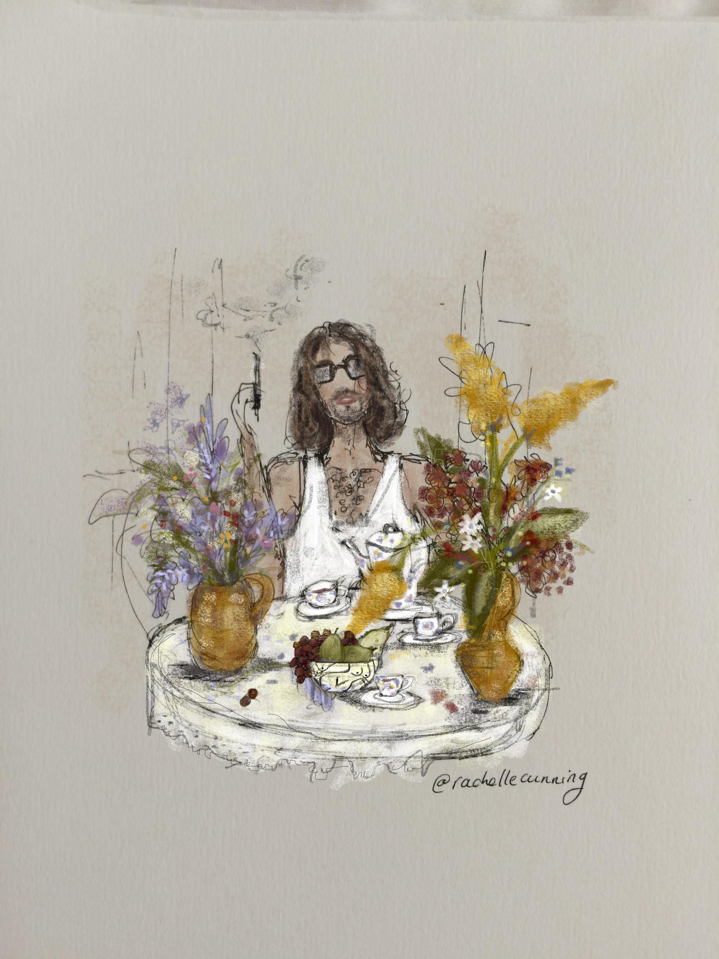 """Spanish Breakfast"". January '19. Paris. FR  (print available)"