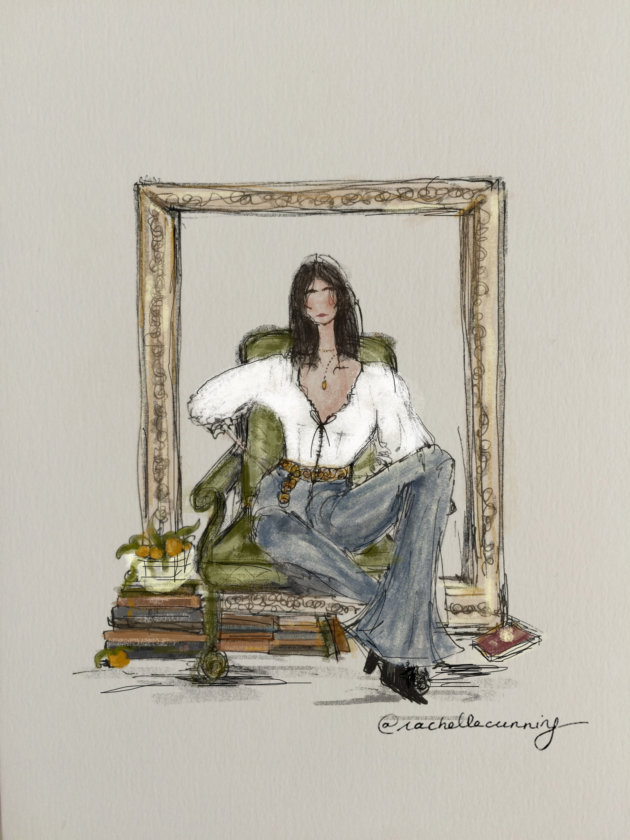 """Parisian Decor"". January '19. Paris. FR  (print available size A5, A4, A3)"