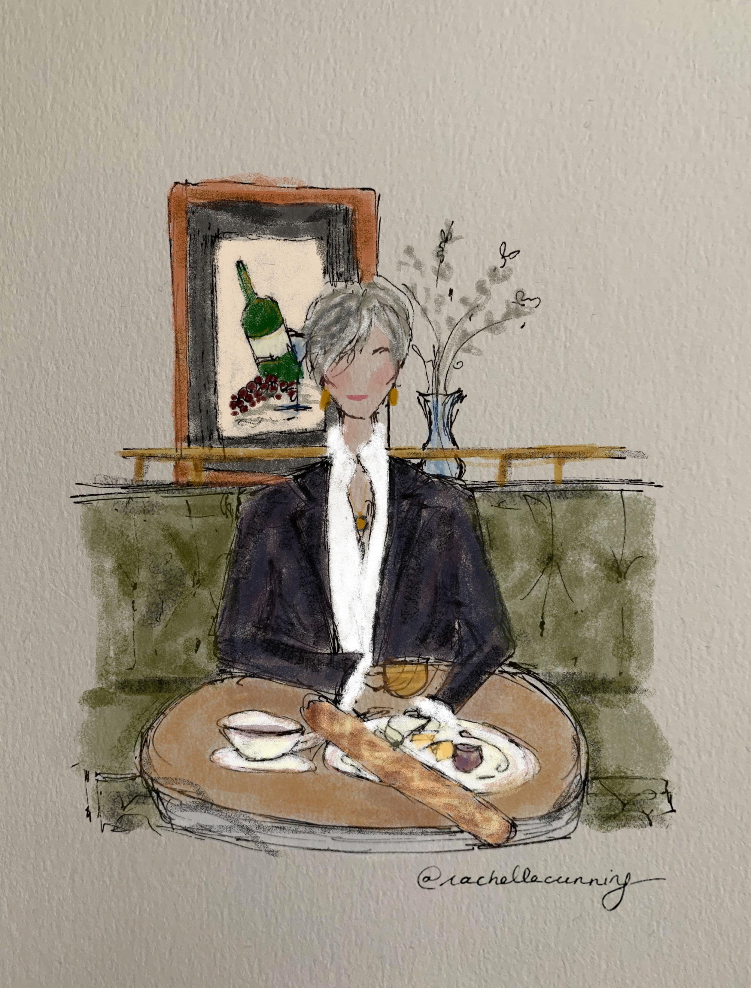 """Commission  * """"Wine & Dine"""" April 2019. Paris. FR."""