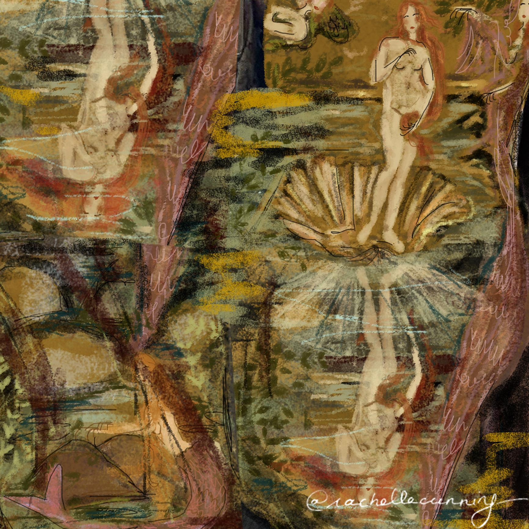 Venus Dream - part of the Art & Me Series.