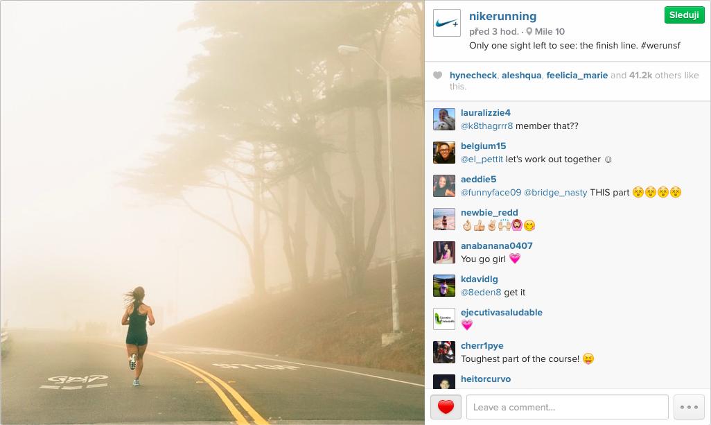 Marketing—Nike on Instagram
