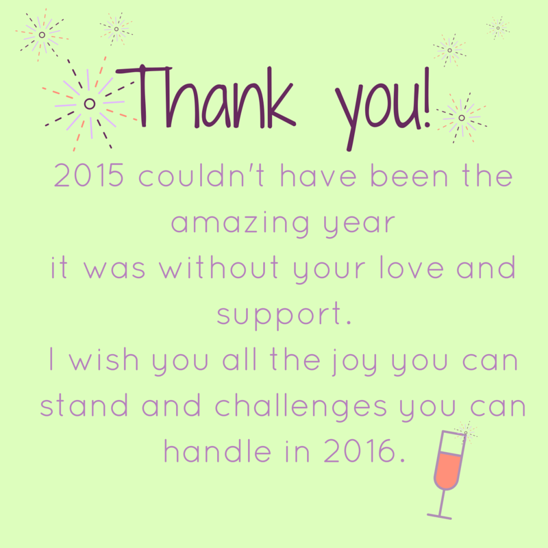 Thank you! 2015