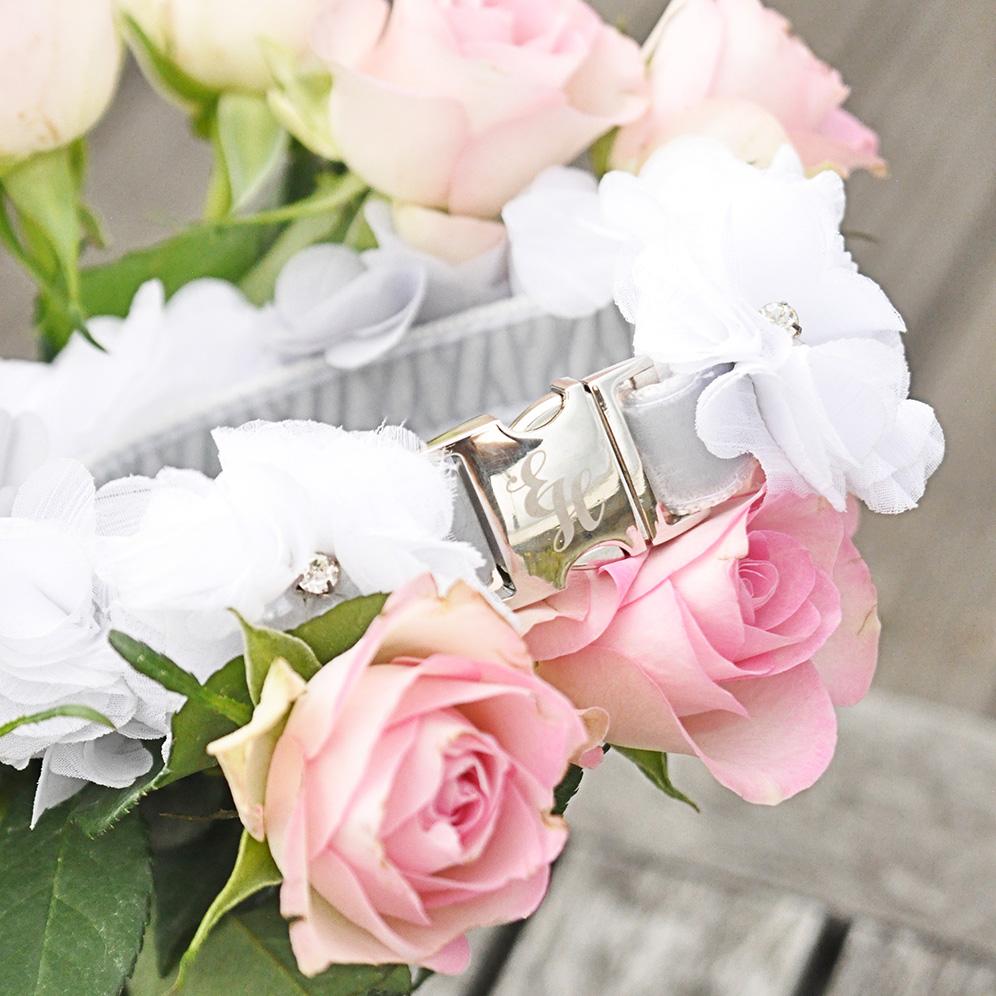 Bespoke wedding collar for Phoebe