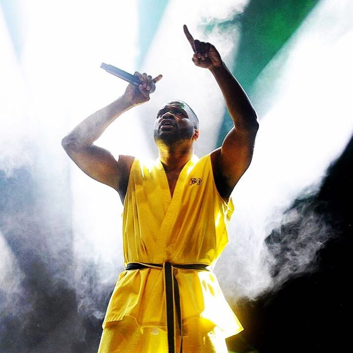 Lethal bizzle   blackie chan outfit FOR HIS @reading festival PERFORMANCE.