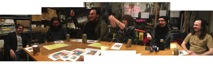 Our NY beta testing group at Brooklyn Bio: Wythe Marschall, Sean Pangea, Blacki Migliozzi, Jasmine Wilson, Jonathan Friedman, Will Shindell